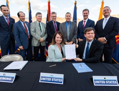 States sign agreement to help boost Lake Powell and Lake Mead